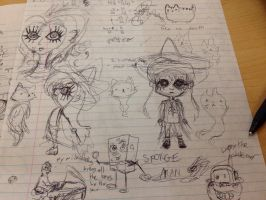 Paying Attention in Math by SaturnSirene
