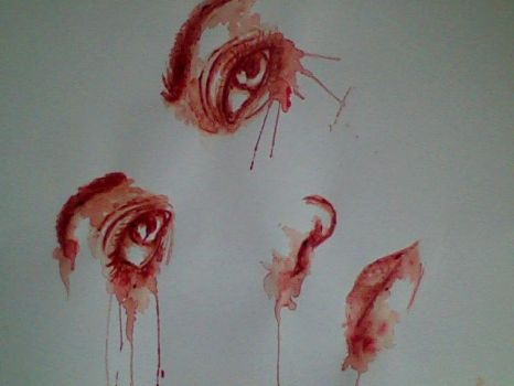 Blood Painting by AmyPond11