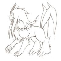 Fakemon - Toldoon Lineart by duducaico
