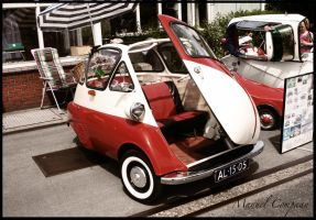 1957 BMW Isetta by compaan-art