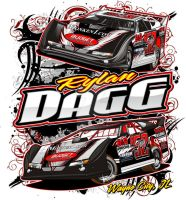 Rylan Dagg Final Shirt Design by tbtyler