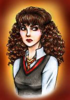Hermione 7th Year by FeindFyre
