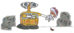 Hello Wall-E by JazzHands966