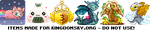 Pixel icons for kingdomsky.org by r0se-designs