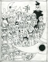 Soul Eater Massive by mermaidmelody26