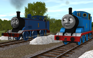 Railway Series meets Television Series: Thomas MK1 by Sergeant-Sunflower