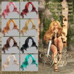 Casual HAIR #5 by Trisste-stocks