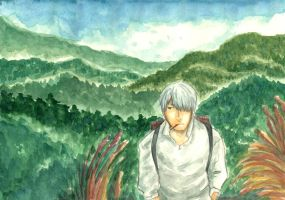 mushishi mountains by HydroENKI