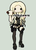 Taylor Momsen Revolver Photoshoot by NickyToons