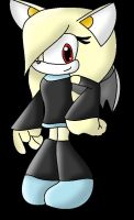Shade bat heart (amy rose used for a base) by marshmellowguineapig
