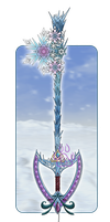 .:A Frozen Heart- Keyblade:. by EmeraldSora
