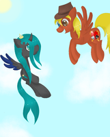 PoisionHeart and Poisistar by Anime-MLP