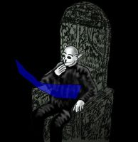 Brad Dougall on his throne by KingNot