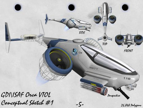 GDI - ISAF Orca VTOL by Aircraftkiller