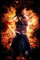 Leather in Fire by IsilWorkshop