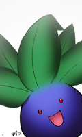 Oddish Colored by sketchandthecity