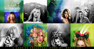 Candice Swanepoel  icon pack by morphine16