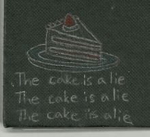 The Cake is a Lie by Phoenix976