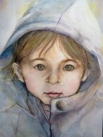 Portrait of a child by Zeon1309