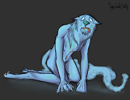 A miserable creature by TheSpectral-Wolf