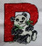 P is For Panda by cloudrat
