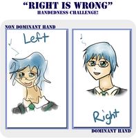 Right Is Wrong Meme by FrenchiestToast