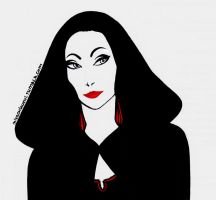 Morticia Addams by Chi-Trish