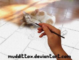 Painting Cats by MuDDiTToX