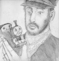 Ringo Starr and Thomas by i-heart-the-ska