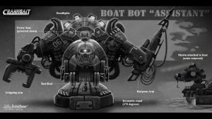 Fishing Robotic Assistant by Skihaas1
