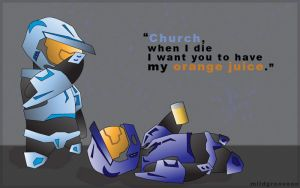RvB: You Can Have My OJ by DrummahJen