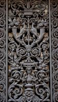 Cast Iron Carving Stock by Sheiabah-Stock