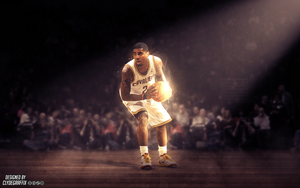 Kyrie Irving | Wallpaper by ClydeGraffix