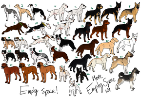 Muti-Breed Rescues (Open-9 Left!) by PittMixx