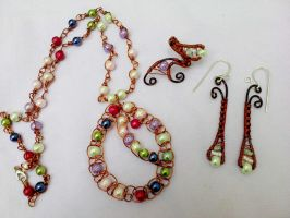 Summer Colors Jewelry by Mirtus63