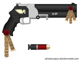 Inquisitor Krueger's handgun by Robbe25