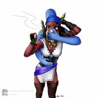 Isabela Chloroformed by sleepy-comics