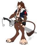 Squall Lion Heart COLOR by GunZcon