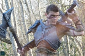 SKYRIM Cosplay Steel Armor by CpCody