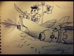 the great Steampunk Pirate! by Saitz