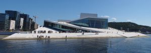 Panorama Norway Oslo Oper by CeaSanddorn