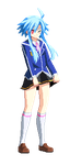 Sprite: White Heart of Obelisk Blue. by excahm