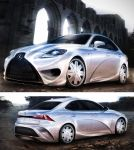 LEXUS IS 3 by AlexanderLevett
