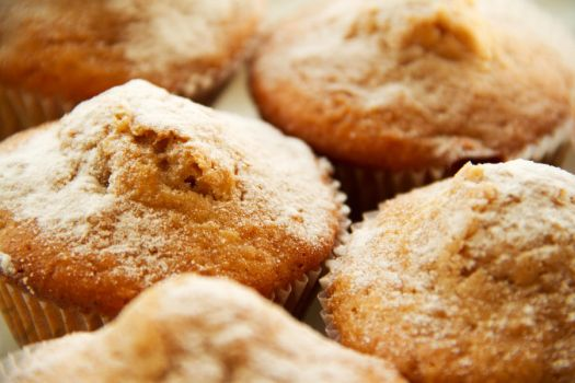 Apple muffins with cinnamon and honey II by faithkata