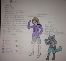 Pokemon: Legendary Tales (Character Intro: Bailey) by TheOstrichKing