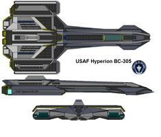 USAF Hyperion BC-305 by bagera3005