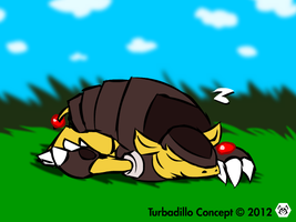 Sleeping Turbadillo by MalamiteLtd