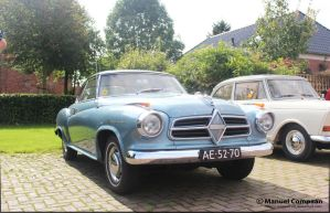 1958 Borgward H1500 Coupe by compaan-art