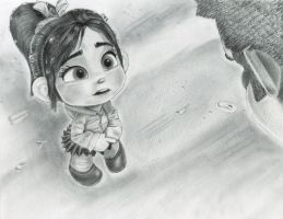 Vanellope - Really??!! by artistsncoffeeshops