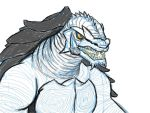 Day 10 of 30:Gamera-ish Kaiju (sketch-incompleted) by DFroGGotten1